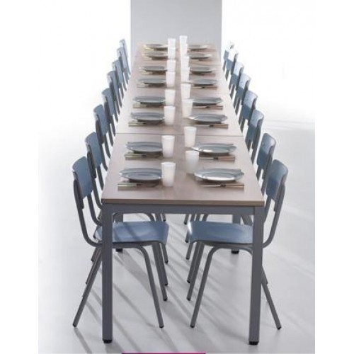 Mesa polivalente for Mesas comedor escolar