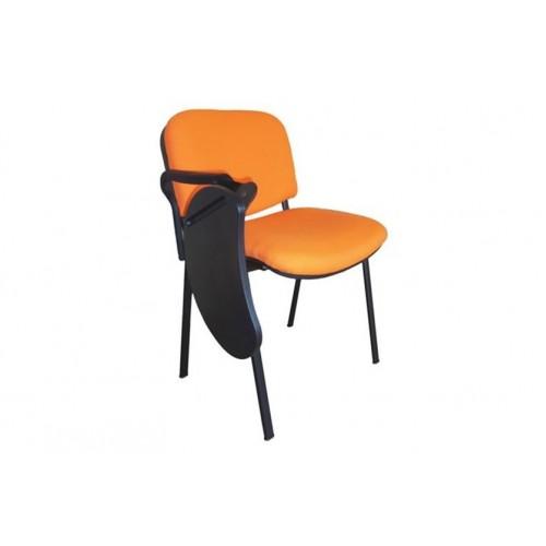 Comprar silla con pala abatible barata for Sillas naranjas baratas